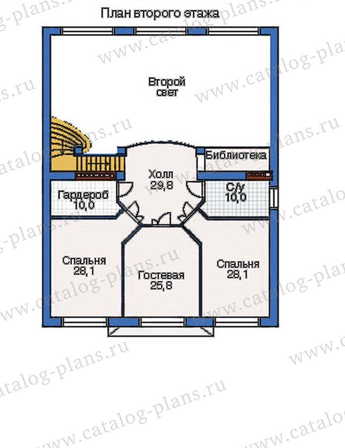 План 3-этажа проекта 32-11