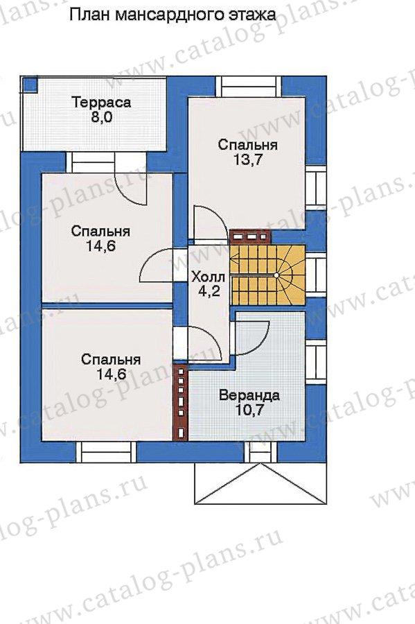 План 3-этажа проекта 33-83