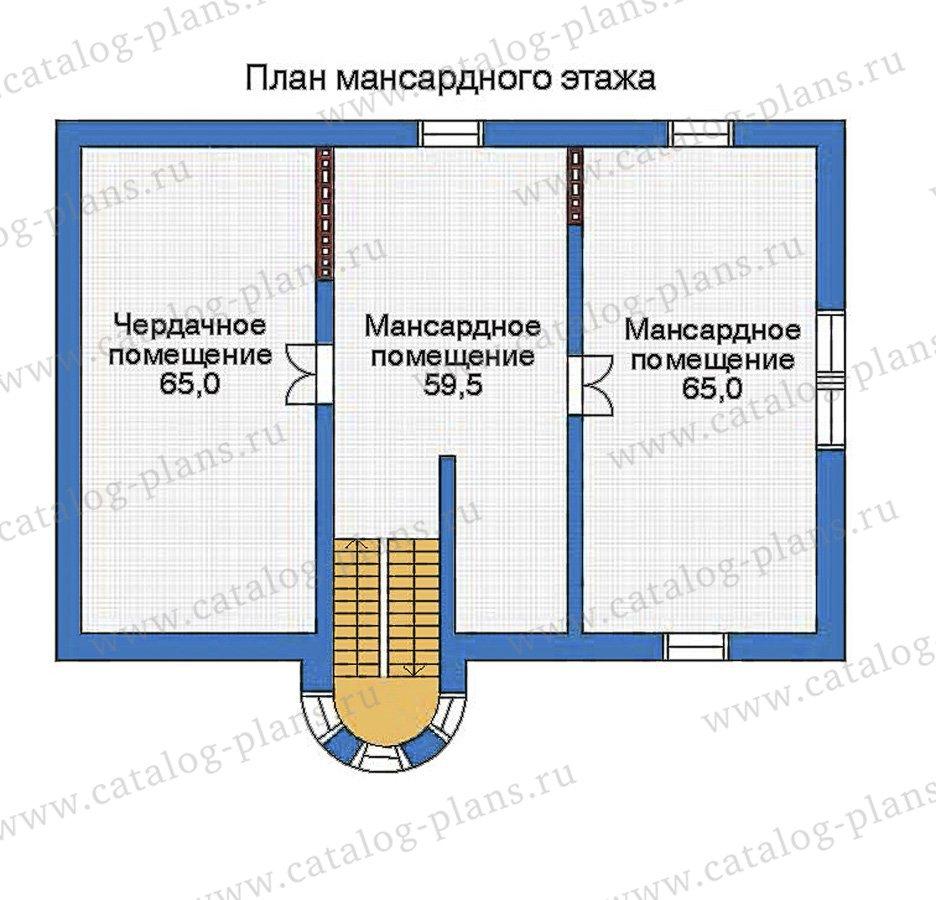 План 4-этажа проекта 32-74