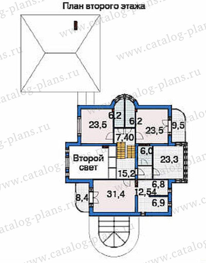 План 3-этажа проекта 36-51