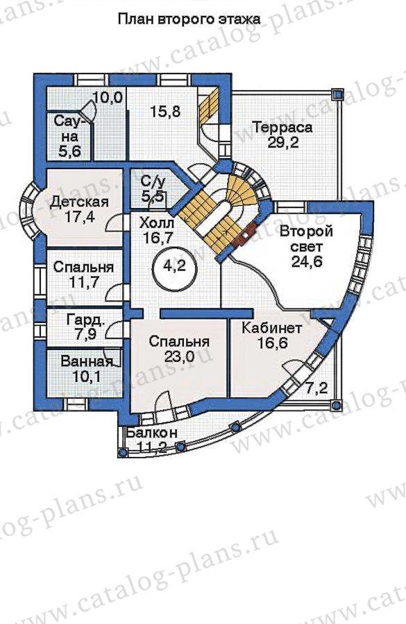 План 3-этажа проекта 36-12