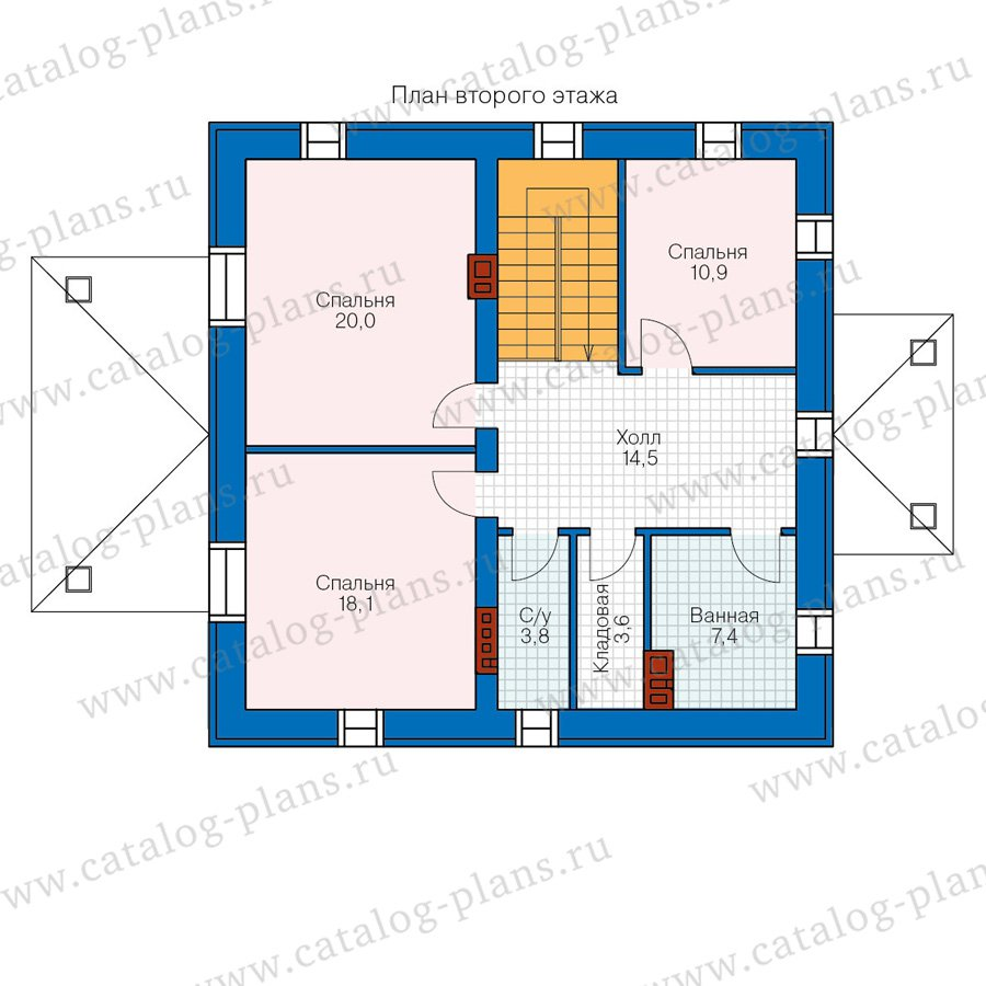 План 2-этажа проекта 57-05A