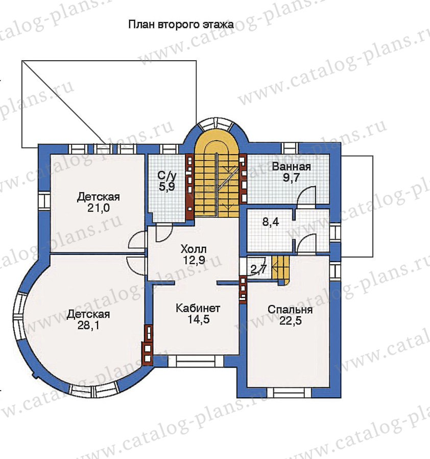 План 4-этажа проекта 36-17