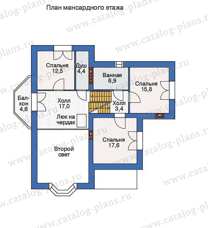 План 3-этажа проекта 35-69