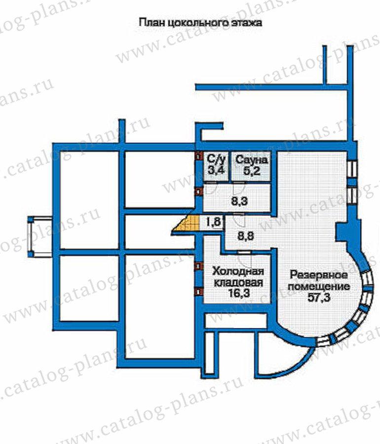 План 1-этажа проекта 36-19