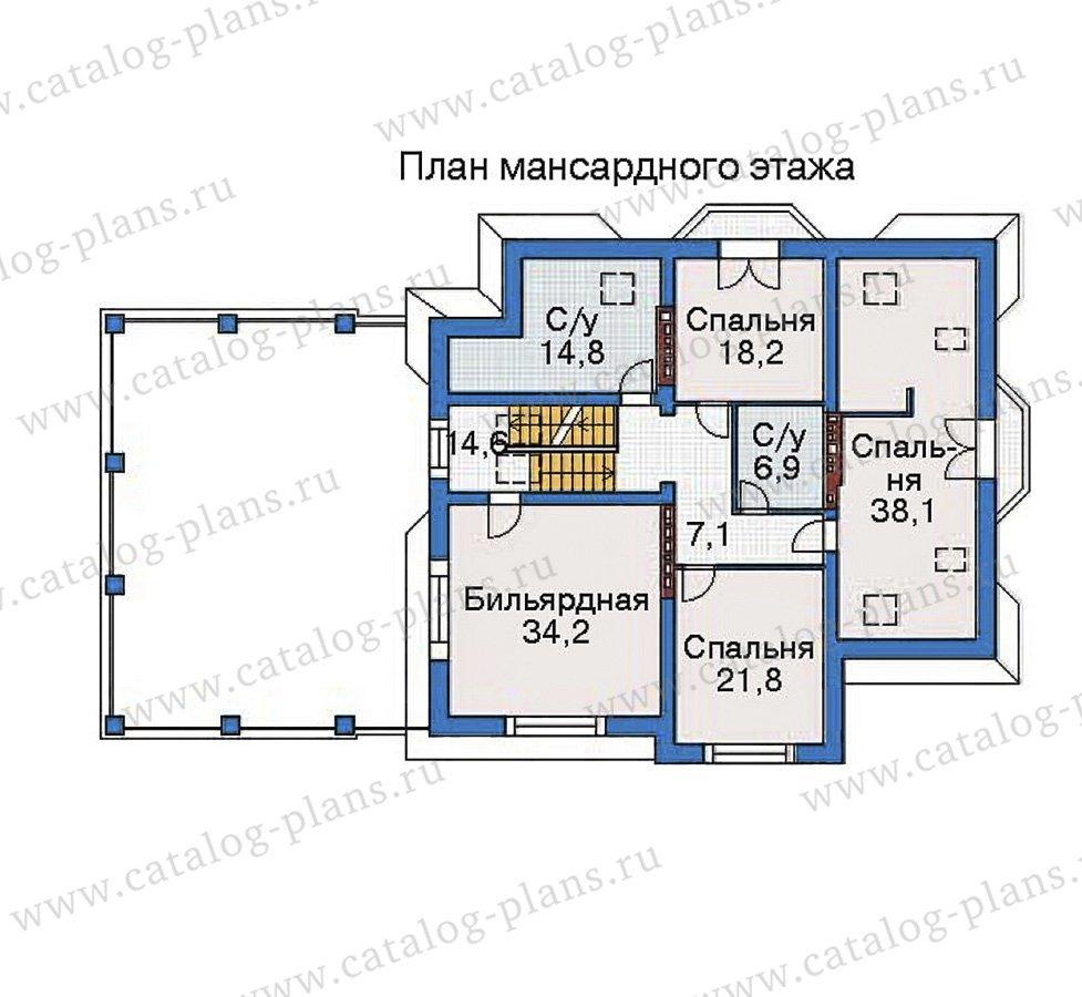 План 4-этажа проекта 35-81