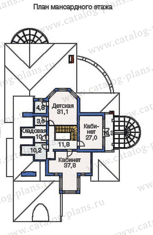 План 4-этажа проекта 36-21