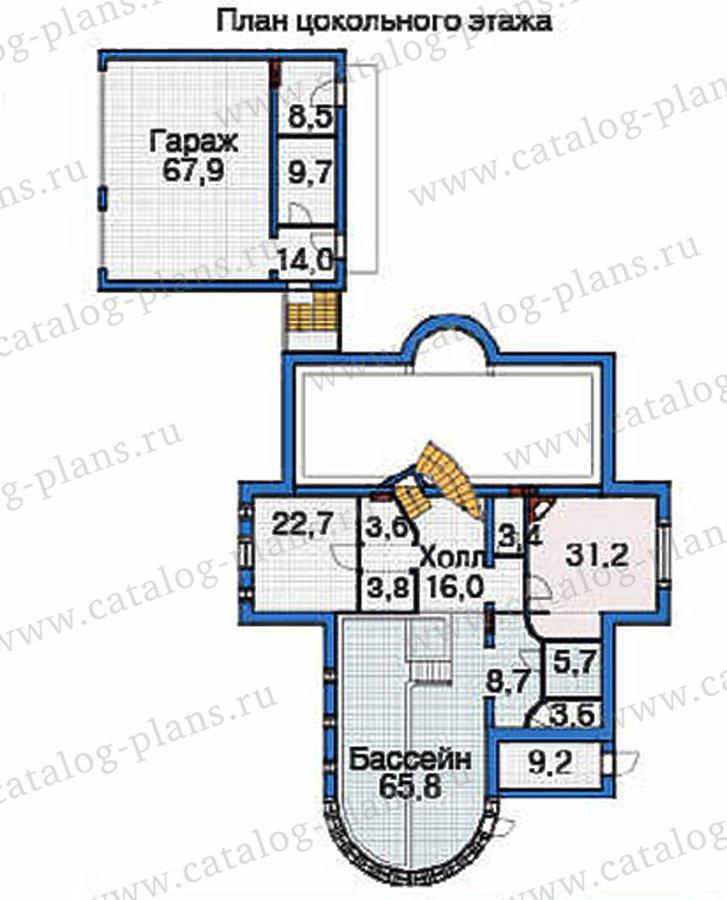 План 1-этажа проекта 36-51