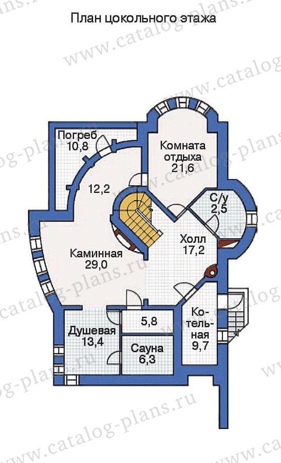 План 1-этажа проекта 36-16
