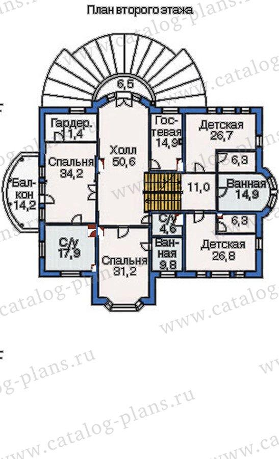 План 3-этажа проекта 36-20