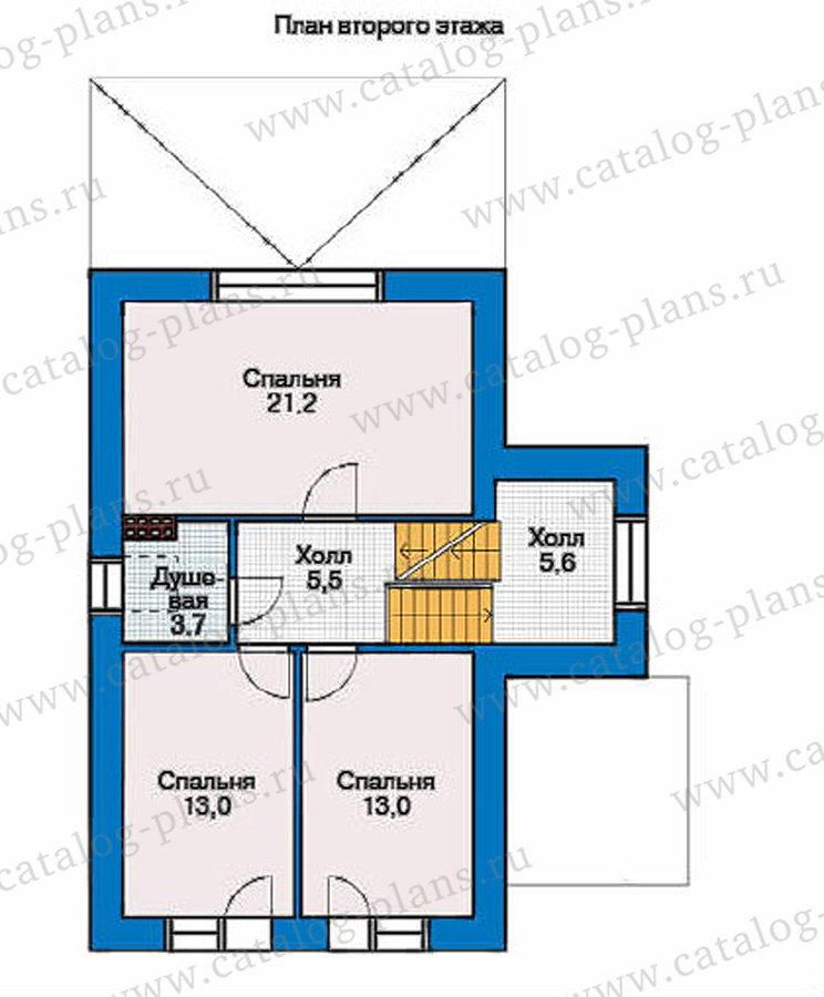 План 3-этажа проекта 36-87