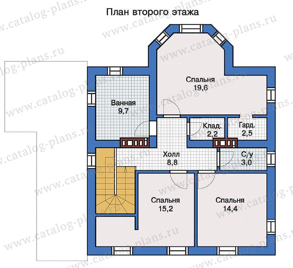 План 3-этажа проекта 57-31