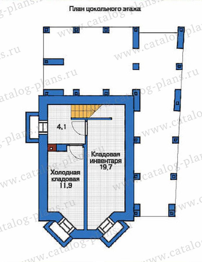 План 1-этажа проекта 53-70