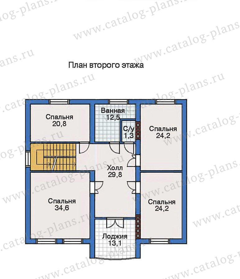 План 3-этажа проекта 50-81