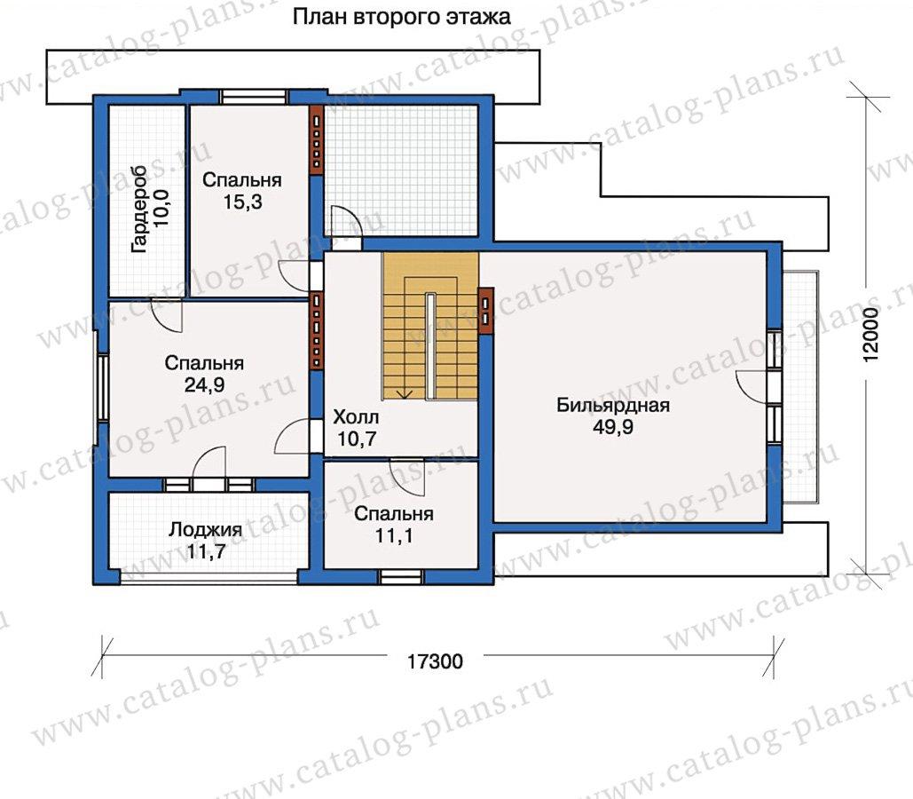 План 3-этажа проекта 50-17