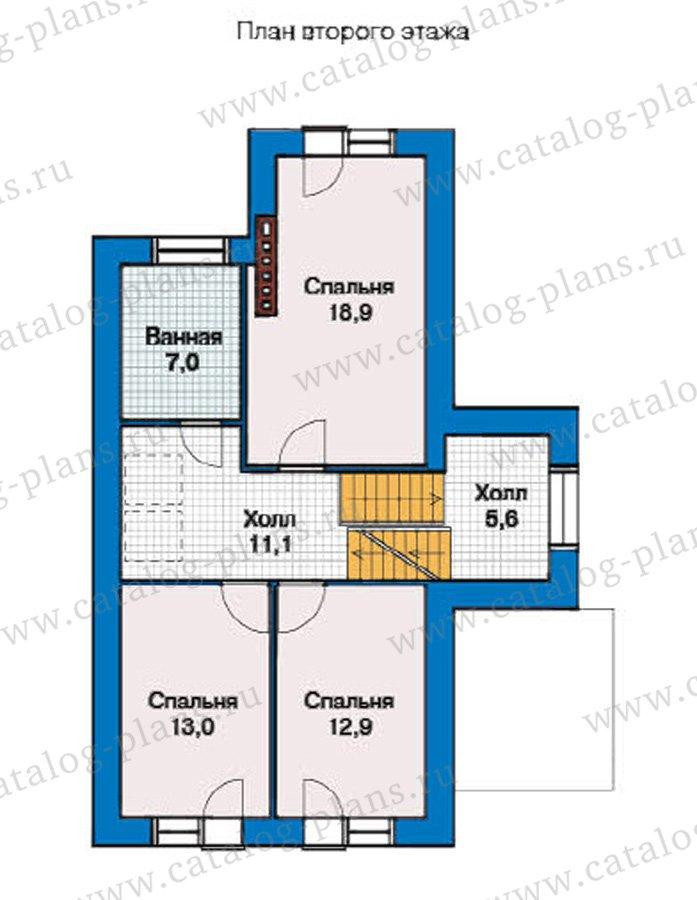 План 3-этажа проекта 49-27