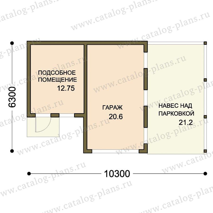 План 1-этажа проекта 70-79