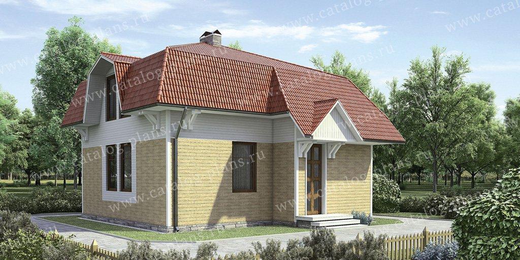 Проект жилой дом #11-15 материал - дерево, стиль европейский