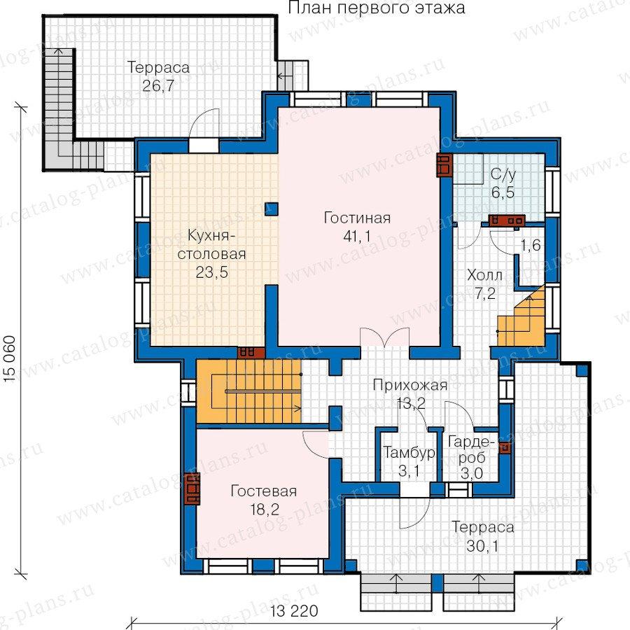 План 2-этажа проекта 59-86L