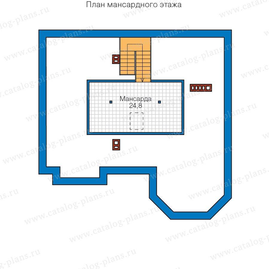 План 3-этажа проекта 40-11BL