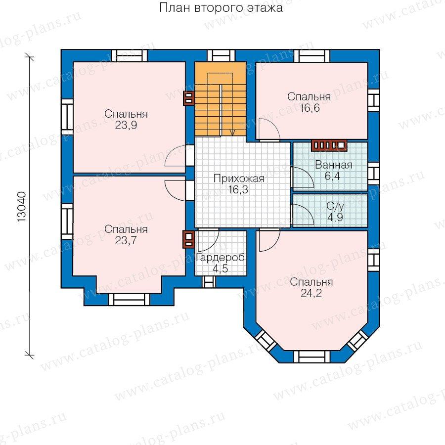 План 2-этажа проекта 40-11BL