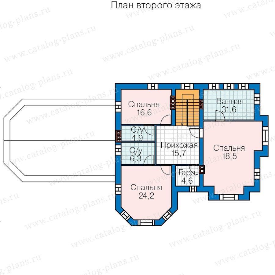План 3-этажа проекта 40-11P