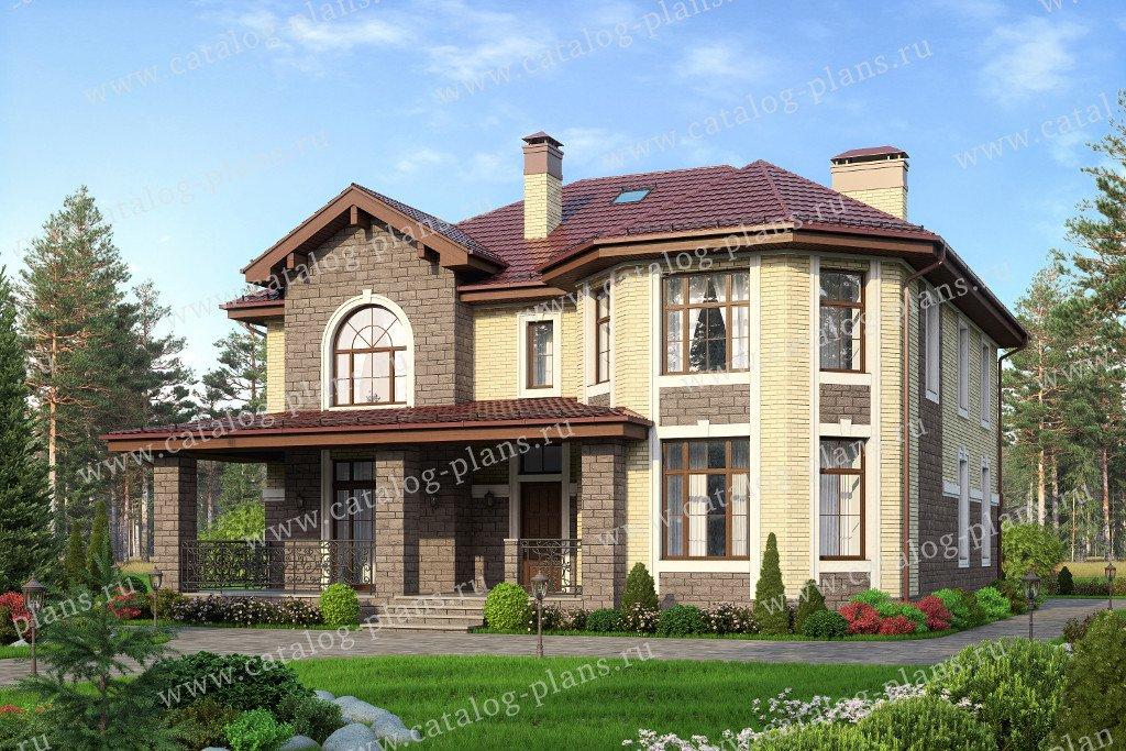 Проект жилой дом #40-11RL материал - газобетон, стиль