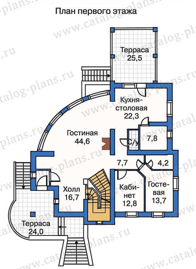 План 2-этажа проекта 50-23