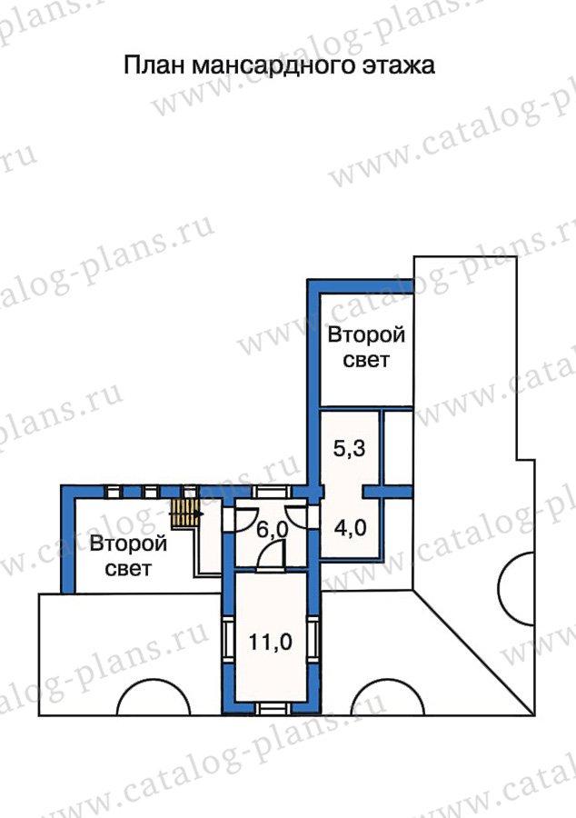 План 4-этажа проекта 50-23