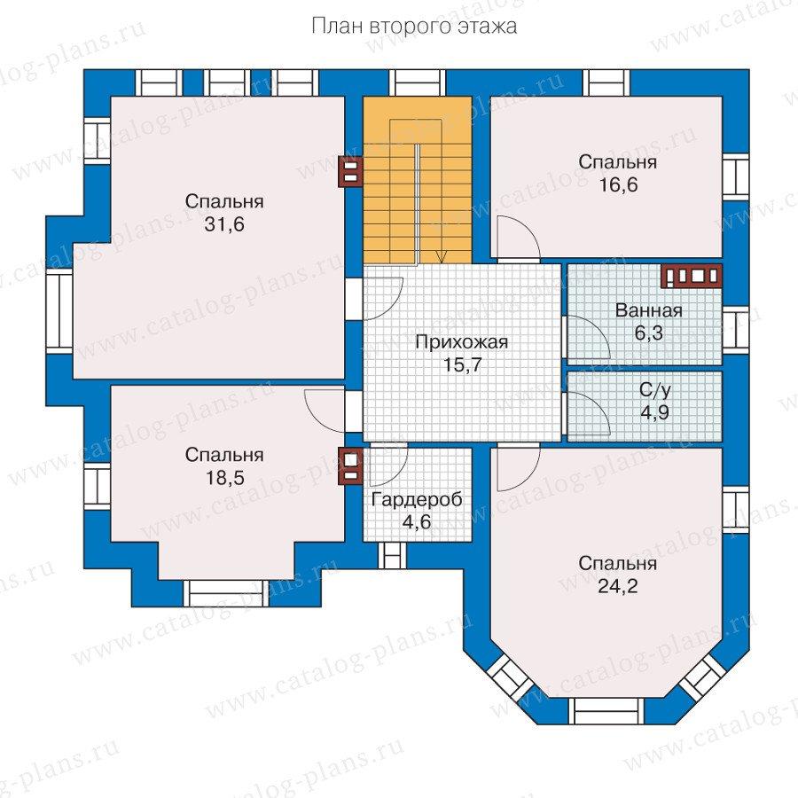 План 2-этажа проекта 40-11KL