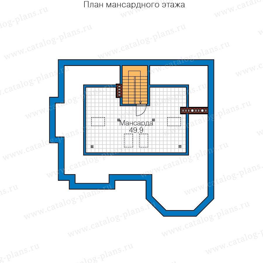 План 4-этажа проекта 58-71