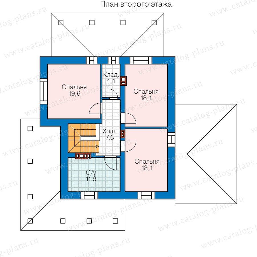 План 2-этажа проекта 59-62A