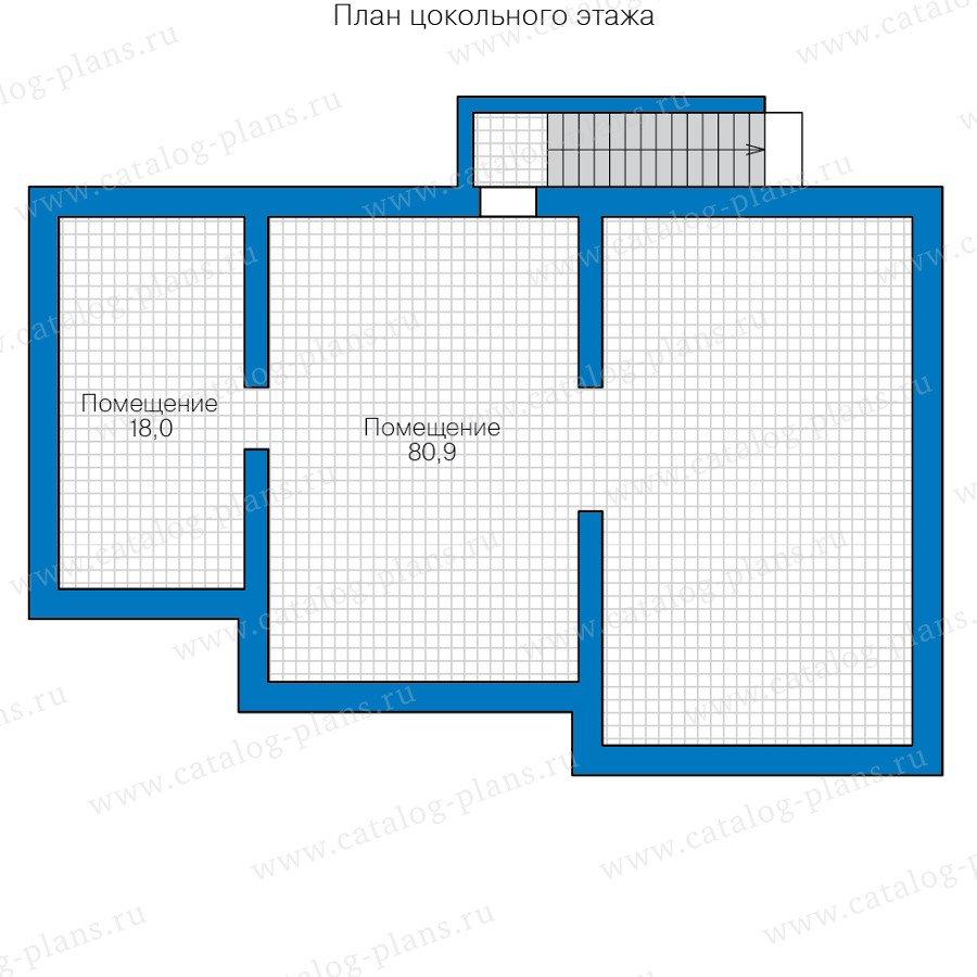 План 1-этажа проекта 40-59