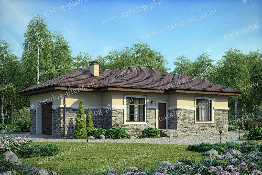Проект жилой дом #40-59 материал - кирпич, стиль европейский