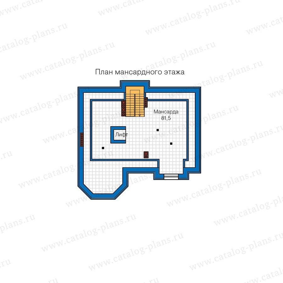 План 4-этажа проекта 40-67