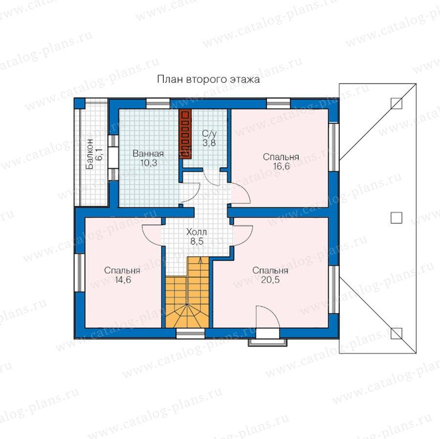 План 2-этажа проекта 57-07B