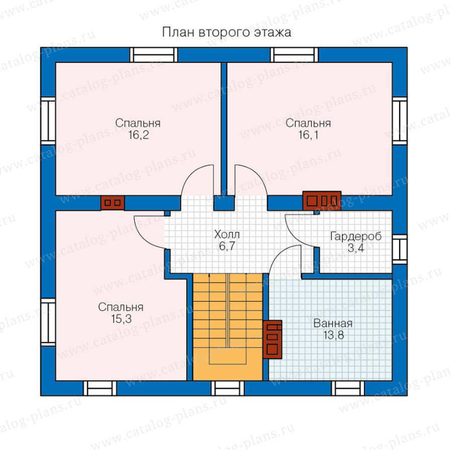 План 2-этажа проекта 40-04KL1