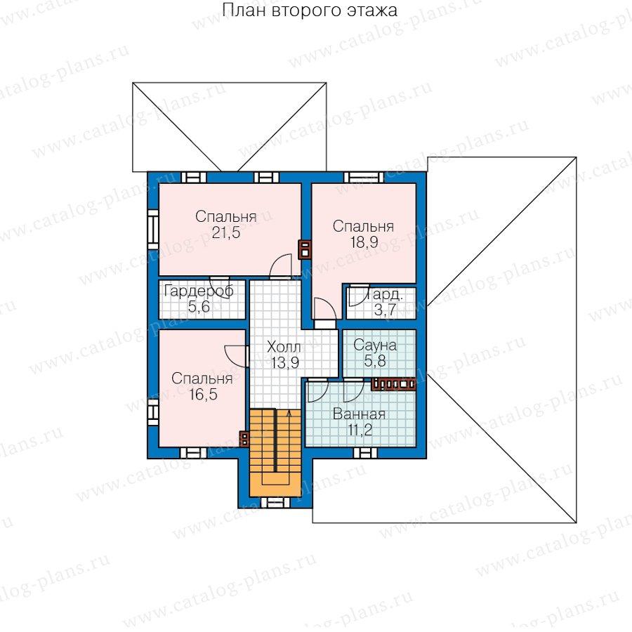 План 2-этажа проекта 57-20F