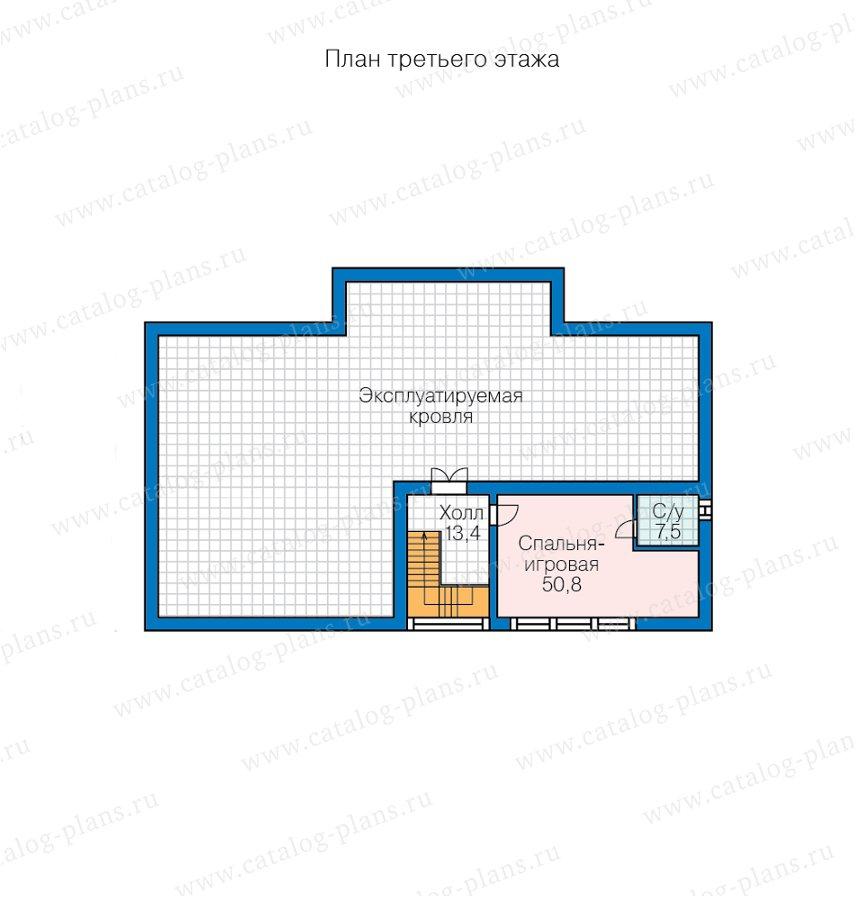 План 3-этажа проекта 47-69
