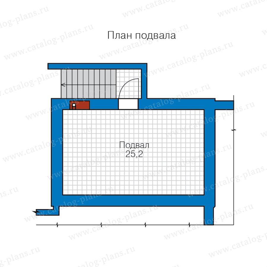 План 1-этажа проекта 57-63BL