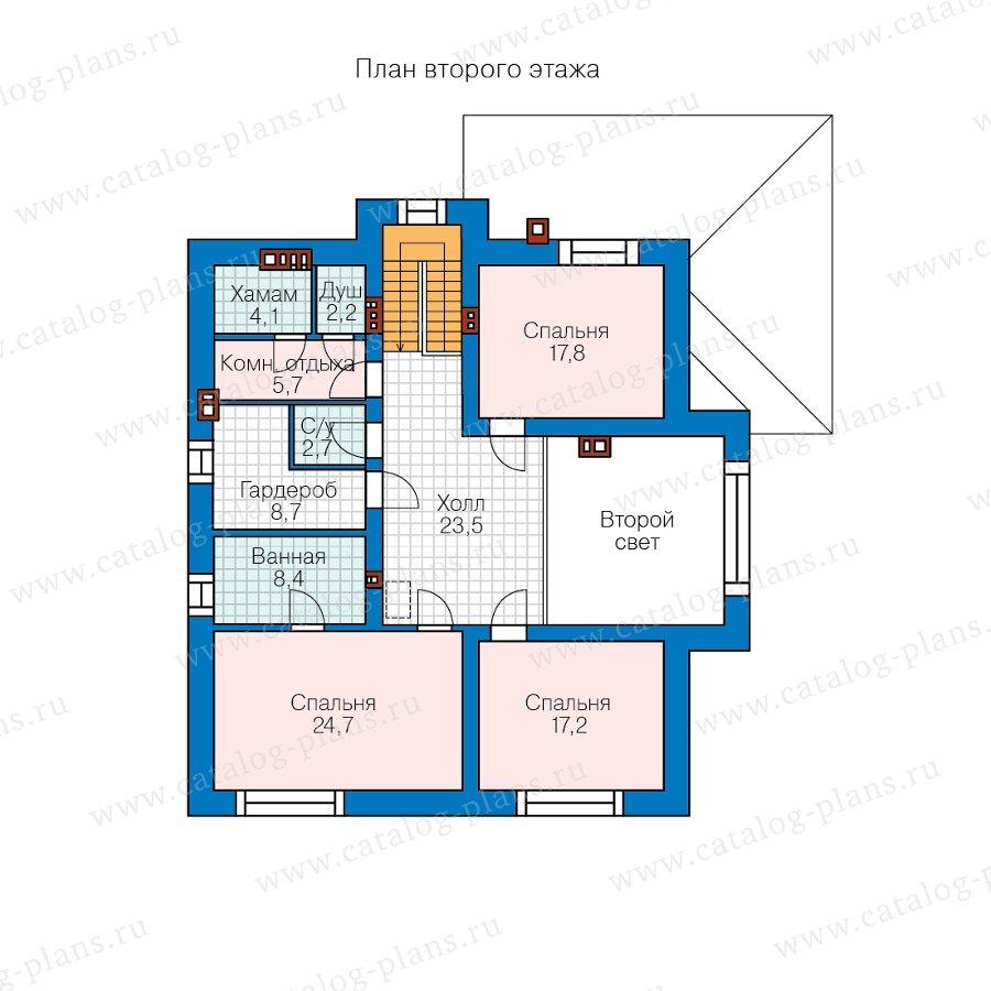 План 2-этажа проекта 57-54AK