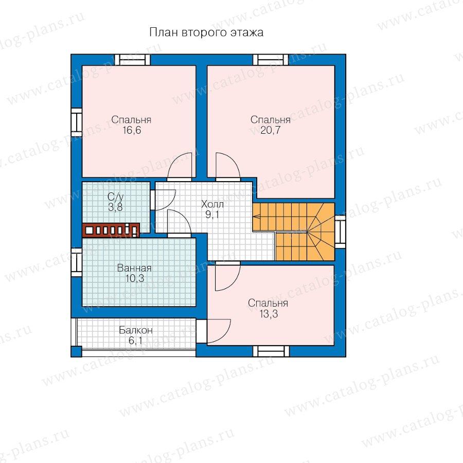 План 2-этажа проекта 57-07F