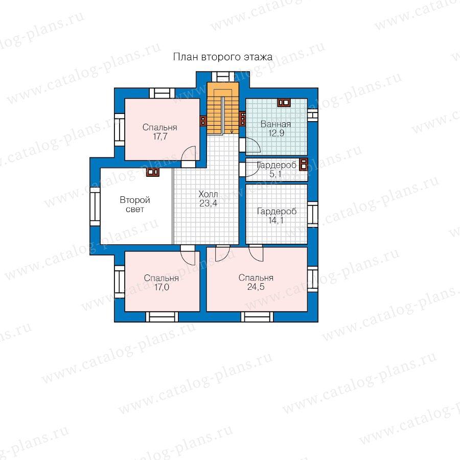 План 2-этажа проекта 57-54A
