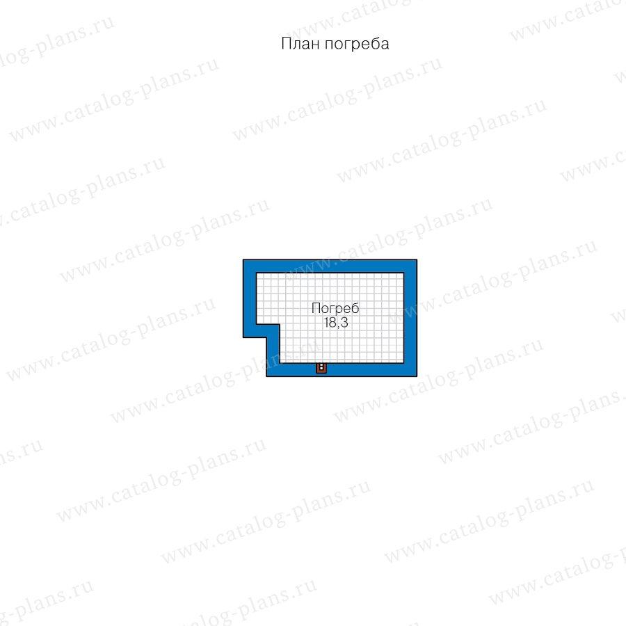 План 1-этажа проекта 62-12