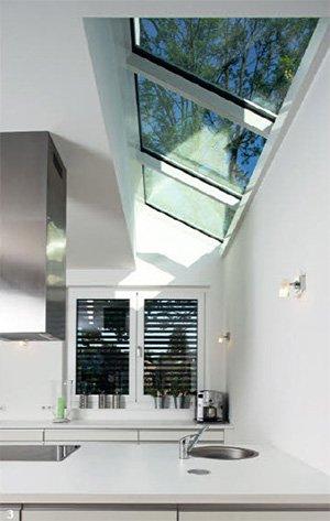 Стеклянные потолок