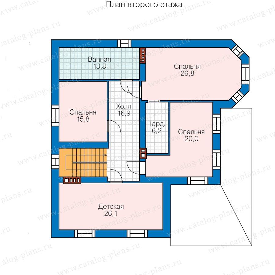 План 3-этажа проекта 57-74H