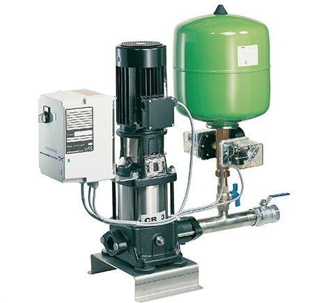Автоматическая подача воды с насосом