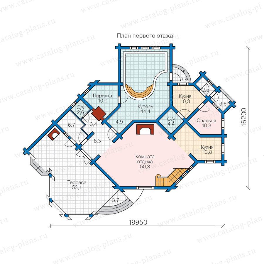 План 1-этажа проекта 13-82