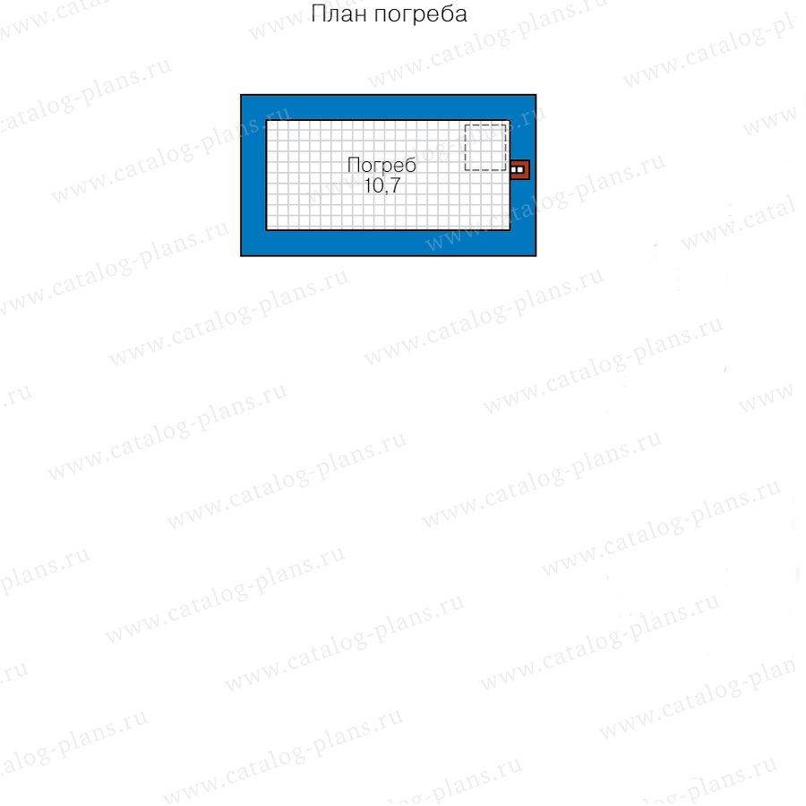 План 1-этажа проекта 40-05DG