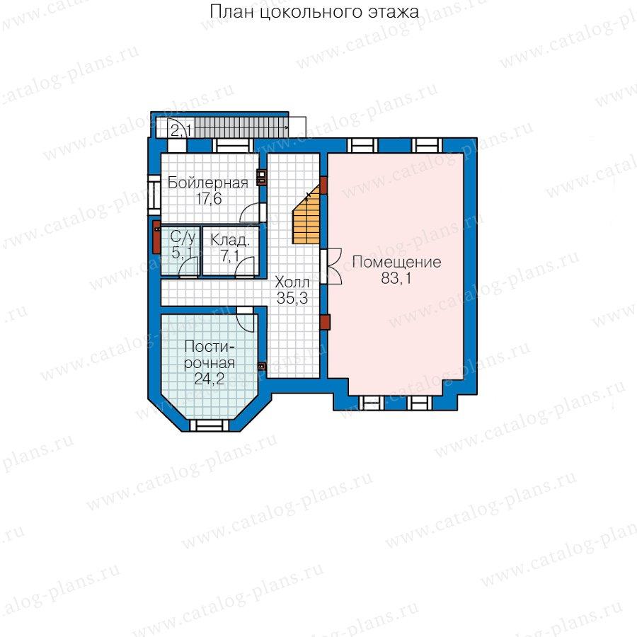 План 1-этажа проекта 40-38AL
